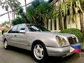 Silver Mercedes-Benz E-Class 1998 for sale in Manila-8