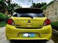 Selling Yellow Mitsubishi Mirage 2013 in Muntinlupa-5
