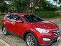 Red Hyundai Santa Fe 2014 for sale in Pasig-3