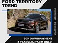 FORD TERRITORY TREND 8K MONTHLY!! 0% INTEREST + HUGE DISCOUNT-0