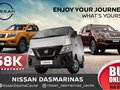 Nissan NV350 Urvan start at 58,000 DP