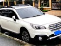White Subaru Outback 2.5i 2016 for sale in Manila-0