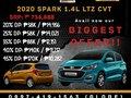 CHEVROLET 2020 SPARK 1.4L LTZ CVT-0