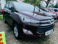2017 Toyota Innova New Look Blackish red Manual Diesel-1