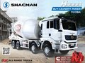 SELLING BRAND NEW SHACMAN H3000 8X4 MIXER TRUCK 12 WHEEL-3