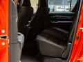 Toyota Hilux rear seats