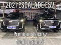 (FULL OPTIONS) 2021 Cadillac Escalade ESV Premium Luxury Brand New like Platinum Sport Navigator-1