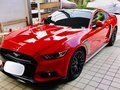 Red Ford Mustang 2017-2