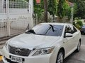 2015 Camry G AT - Pearl White-1