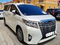 Selling Pearl White Toyota Alphard 2015 in Antipolo-3