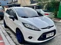 White Ford Fiesta 2013 -8