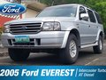 SALE 2005 Silver Ford EVEREST AUTOMATIC Diesel-0