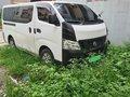 White Nissan Urvan 2016 -2