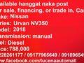 2018 Nissan Urvan NV350 MT Diesel Van Lucena City-9