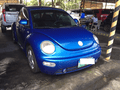 Rush Sales! Second Hand Volkswagen Bettle A/T 2003 in Blue For Sale -1