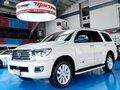 Pearl White Toyota Sequoia 2019 for sale-5