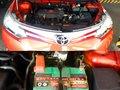 Orange Toyota Vios 2016 for sale in Marikina-0