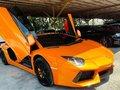 Orange Lamborghini Aventador 2013 for sale in Pasig-8