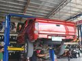 Red Nissan Frontier 2000 for sale in Manila-1