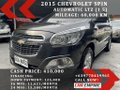 Selling Black Chevrolet Spin 2015 in Las Piñas-9