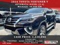 Black Toyota Fortuner 2016 for sale in Las Piñas-9