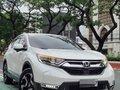 Pearl White Honda CR-V 2018 for sale in Quezon-8