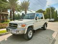 Brandnew LC79 double cab truck. V8 4.5L turbo. Manual. Mags DRL. Snorkel. Towing hook-0