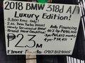 2018 BMW 318D A/T Luxury Edition -3