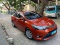 Orange Toyota Vios 2014 for sale in Quezon-5