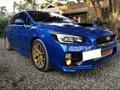 Blue Subaru WRX 2015 for sale in Cebu-8