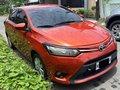 Orange Toyota Vios 2016 for sale in Las Piñas-5