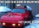 This is how most car nuts will celebrate valentine's day