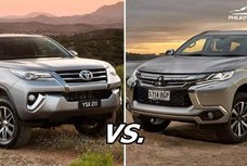Montero vs Fortuner: Comparison reviews