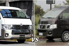Auto brawl 101: Nissan NV350 vs Toyota Hiace in the Philippines