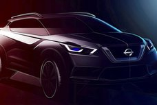 Indian-spec Nissan Kicks 2019 teased, bigger than other markets' model