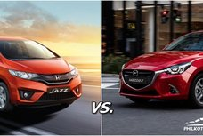 [Auto brawl 101] Honda Jazz vs Mazda 2: Which is the better subcompact in the Philippines?