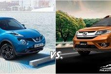 [Auto brawl 101] Nissan Juke vs Honda BRV: Who gains the palm?