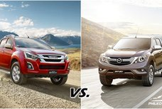 [Auto brawl 101] Isuzu D-Max vs Mazda BT-50: Which will be your next pickup?