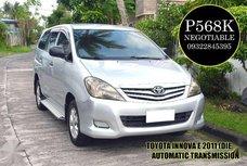 Toyota Innova e 2011 - AT Diesel for sale