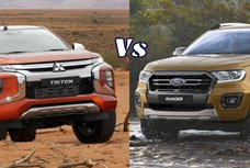Spec showdown: Mitsubishi Strada vs Ford Ranger in the Philippines