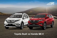 Toyota Rush vs Honda BR-V: Comparison of specs, features, price & more