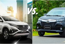 Toyota Rush vs Avanza - 2 MPVs from the same manufacturer: Which is better?