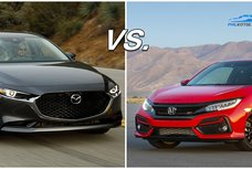 Honda Civic vs Mazda 3: A specsheet comparison of two popular beauties