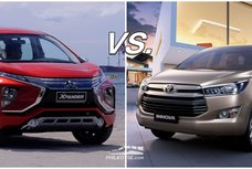 Mitsubishi Xpander vs Toyota Innova: The rookie vs the seasoned veteran