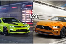 Camaro vs Mustang: A specsheet battle of two long-time rivals