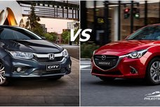Honda City vs Mazda 2 Philippines: Specsheet battle!