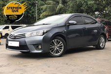 2016 Toyota Altis 1.6 V Gas Automatic