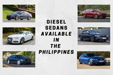 Top 10 diesel sedans available in the Philippines