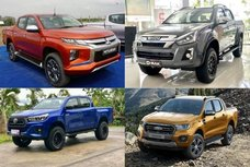 The top five best pick up trucks in the Philippines in 2020