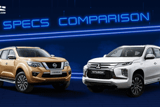 2020 Mitsubishi Montero Sport vs Nissan Terra 4x4 Comparison: Spec Sheet Battle